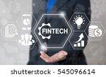 business fintech gear web... | Shutterstock . vector #545096614