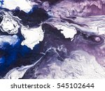 blue creative abstract hand... | Shutterstock . vector #545102644