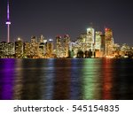 night toronto | Shutterstock . vector #545154835