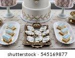 sweet table | Shutterstock . vector #545169877
