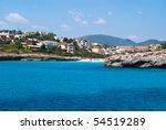 cala anguila villas and beach... | Shutterstock . vector #54519289