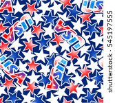 usa flag with stars and stripes ...   Shutterstock . vector #545197555