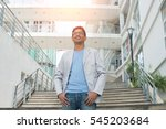 Casual Indian Business Male