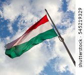 hungarian flag | Shutterstock . vector #545219329