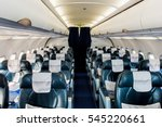 airplane interior  | Shutterstock . vector #545220661