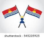 kiribati emblem queen | Shutterstock .eps vector #545235925