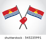 kiribati emblem label | Shutterstock .eps vector #545235991