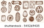 different shapes and kinds... | Shutterstock .eps vector #545269435