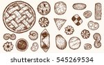 different shapes and kinds... | Shutterstock .eps vector #545269534