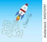 flat design modern vector... | Shutterstock .eps vector #545273797
