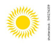 sun icon. | Shutterstock .eps vector #545276359