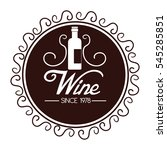 the best wine collection | Shutterstock .eps vector #545285851