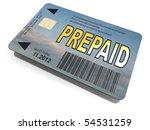 prepaid card | Shutterstock . vector #54531259
