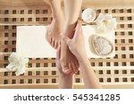Foot Massage In Spa Salon ...