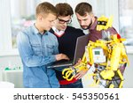 preparing for testing. shot of... | Shutterstock . vector #545350561