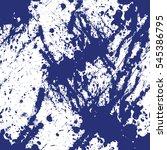 expressive seamless blue... | Shutterstock . vector #545386795