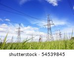 power line   Shutterstock . vector #54539845