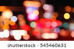 big city lights   blurry las... | Shutterstock . vector #545460631