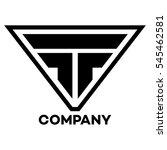 ft company linked letter logo   Shutterstock .eps vector #545462581
