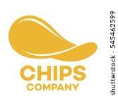 chips logo   Shutterstock .eps vector #545462599
