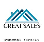 real estate  building ... | Shutterstock .eps vector #545467171