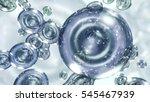 3d rendering liquid transparent ...   Shutterstock . vector #545467939