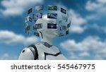 3d rendering of an artifiacial...   Shutterstock . vector #545467975
