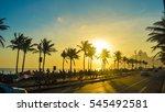 avenida vieira souto ipanema...   Shutterstock . vector #545492581