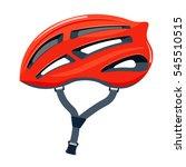 bicycle helmet illustration.   Shutterstock . vector #545510515