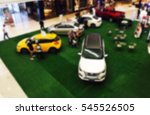 car motor show in showroom blur ... | Shutterstock . vector #545526505