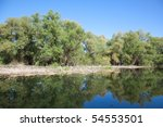 beautiful landscape from the...   Shutterstock . vector #54553501
