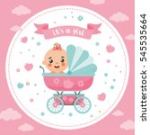 It\'s A Girl Shower Card....