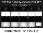 modern camera focusing screen... | Shutterstock .eps vector #545558119