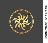 abstract element for design ... | Shutterstock .eps vector #545575501