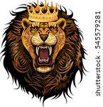 lion king | Shutterstock .eps vector #545579281