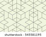 vector seamless pattern. modern ... | Shutterstock .eps vector #545581195