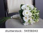 perfect wedding bouquet | Shutterstock . vector #54558343