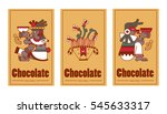 vector illustration aztec cacao ... | Shutterstock .eps vector #545633317