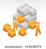 partnership project | Shutterstock .eps vector #545638474
