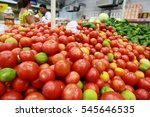 vegetables and vegetables are... | Shutterstock . vector #545646535