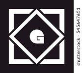 g letter logo design   Shutterstock .eps vector #545647651