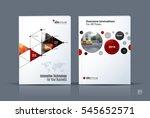 business vector. brochure...   Shutterstock .eps vector #545652571