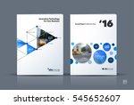 business vector. brochure... | Shutterstock .eps vector #545652607
