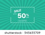 sale vector illustration on a... | Shutterstock .eps vector #545655709
