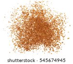 Instant Coffee Powder Isolated...