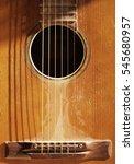 old guitar | Shutterstock . vector #545680957