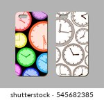 mobile phone case design.... | Shutterstock .eps vector #545682385