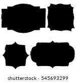 vintage label set | Shutterstock .eps vector #545693299