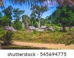 Small Malagasy Village In...