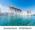 las vegas  nevada  usa  ... | Shutterstock . vector #545696614